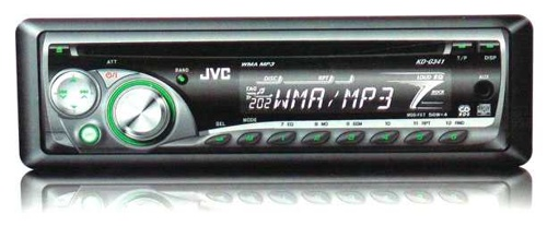 JVC KD-G341 autorádio s CD/MP3