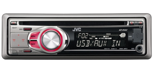 JVC KD-R402S autorádio CD/MP3