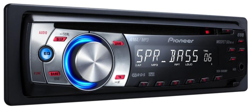 Pioneer DEH-3000MP autorádio s CD/MP3